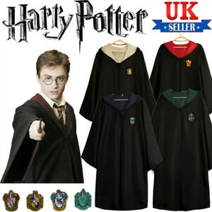 Unisex Harry Potter Cloak Robe Gryffindor Ravenclaw Cloak Cosplay Costume Party