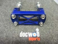 Kawasaki KX125 2002-2004 Doc Wob Superlite KHI blue handlebar mounts BM002