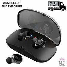 Wireless Bluetooth Earbuds Headphones Stereo Earphone Handsfree Headset X18 TWS