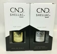 CND Shellac Top & Base Coat Your choice  new with box LED/UV large size