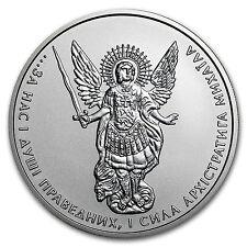 2014 Ukraine 1 oz Silver Archangel Michael BU - SKU #91224