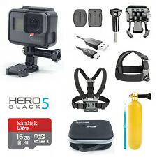GoPro HERO5 Black + 1 set Sports Accessories + Camera Case + SanDisk Memory Card