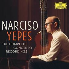 NARCISO YEPES -YEPES:THE COMPLETE CONCERTO RECORDINGS 5 CD NEUF RODRIGO/VIVALDI