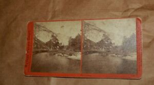 Watkins Pacific stereoview Yosemite Valley, CA The DOME vintage