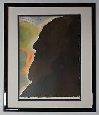 """Original 1967 Salvador Dali Biblia Sacra """"Abraham, pater ..."""" Signed - COA"""