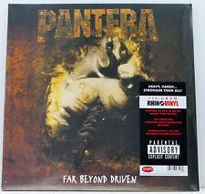 PANTERA Far Beyond Driven 2x LP vinyl 20th anniv 180g 2014 Rhino Sealed/New