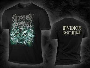 Malevolent Creation - invidious dominion (T-Shirt), Größe size M, L, XL, NEW
