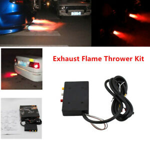 1PC Car SUV Aircraft Exhaust Tail Pipe Flame Thrower Kit Fire Burner Afterburner