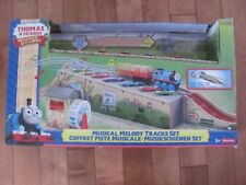 Thomas the Train MUSICAL MELODY TRACKS SET Wooden Railway NEW but missing train