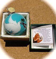 Pier 1 Ornament Li Bien Glass Dove Christmas 2014 Keepsake Collectible NEW