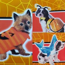 Spooky Village Dog Dress Up Costume Bee Shark Pumpkin - XS, S, M