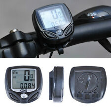 New Wireless LCD Digital Cycle Computer Bicycle Bike Meter Speedometer Odometer