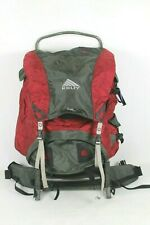 Kelty Tioga 5000 External Frame Hiking Camping Backpack Red Grey
