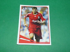N°324 STEVEN GERRARD LIVERPOOL MERLIN PREMIER LEAGUE FOOTBALL 2007-2008 PANINI