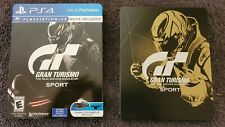 Gran Turismo Sport: Limited Edition Steelbook Sony PlayStation 4, 2016 PS4