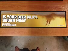 Is Your Beer 99.9% Sugar Free Bar Mat - beer the beautiful truth.com