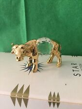 Ox figurine, Cow figurine with Swarovski ®� Crystal