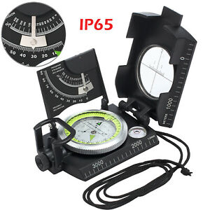 Professional Outdoor Compass Sighting Clinometer for Camping Hunting Hiking IP65