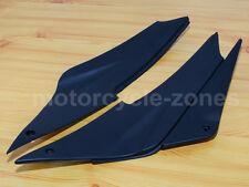 Black Tank Side Fairing Cover Panel For Kawasaki Ninja ZX-6R ZX636 ZX6 2005-2006