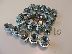 RANGE ROVER L322 NEW FULL STAINLESS ALLOY WHEEL NUT SET x20 NUTS - RRD500510