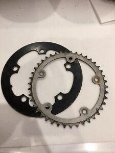 42 Tooth Chainring & Bash Guard 130bcd 130 X 5 Bolt Mountain Bike MTB Retro