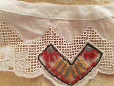 A36 Antique Doll Cuff Trim Collar Applique Child Small Sewing Costume Per 1