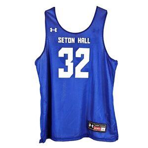 Seton Hall Pirates Basketball Jersey Size Large Reversible Practice Throwback 32