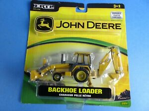 2007 Ertl John Deere BACKHOE LOADER 1/64 Scale Die-Cast Replica New