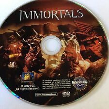Immortals (DVD) Stephen Dorff Mickey Rourke  NO CASE NO ART EXCELLENT CONDITION