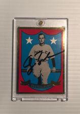 George Bush Autographed Signed Yale Baseball Card with Coa