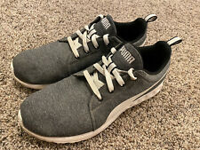 New listing Men Puma Shoes Sneakers Casual 10 Grey EverRide Tennis Running Shoes
