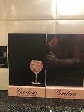 2x Gordon's Pink Premium Gin Chalk Boards Pub Shed Bar Man Cave
