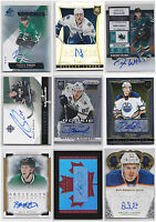 NHL Autograph Auto Signature Cards Choose From List SPs Rookies RC Numbered LOOK