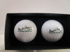 RARE Vintage MINT 1998 Master's Champion Mark O'Meara Signature Golf Balls c1998