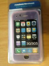 BRAND NEW PINK SOFT SILICONE GEL RUBBER CASE COVER SKIN FOR IPHONE 3G 3GS