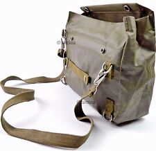 New Swiss Army SM-74 Gas Mask Bag Rubberized Hiking Mag Bugout Military Pack
