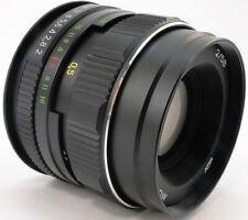 ⭐NEW⭐ KMZ MC HELIOS 44m-4 58mm f/2 Russian Lens M42 + Adapt. Canon EOS EF Mount