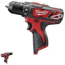 Milwaukee Drill Driver M12 Cordless 3/8-Inch Ergonomic Fuel Gauge Torque Tool
