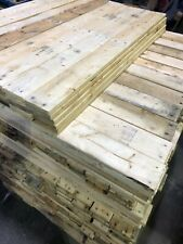 10 x 100cm Reclaimed Pallet Boards - Wood Planks Timber Wall Cladding Projects
