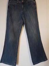 "*** WOMEN'S COUNTRY ROAD STRETCH JEANS WIDE LEG SIZE 8/26"" LEG 30.5""  ***"