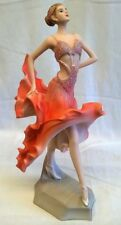 JULIANA BALLROOM DANCER PRETTY LADY FIGURE MODEL - NADIYA - PEACH DRESS 60446