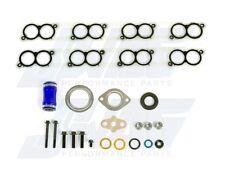 03-10 Ford Powerstroke Diesel 6.0 6.0L Intake Manifold Gasket Set with Blue Hose