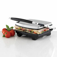 Heller 4 Slice Sandwich Maker Press Toaster/Toast/Grill Nonstick loaf bread