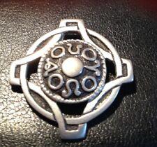 St Justin Celtic Cornish Pewter Brooch SJC CELTIC PIN BROOCH