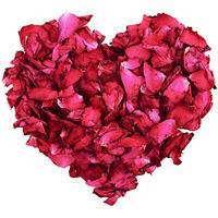 100g Natural Dried Rose Petals Real Flower Dry Red for Foot Bath Bod G6S