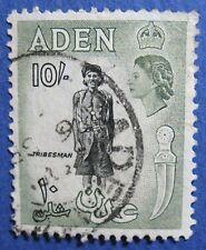 1954 ADEN 10S SCOTT# 60 S.G.# 70 USED                                  CS04208