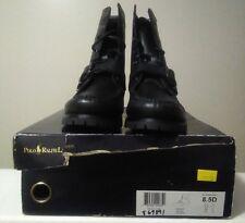 Polo Ralph Lauren Boots For Men Color Black Size 8.5
