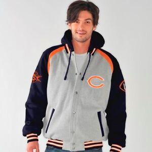 Chicago Bears NFL ROY Super Bowl Commemorative Detachable Hooded Jacket