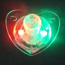 Flashing Led Multi Color Mouth Glow Pacifier Lights Fun Party Favor Toys