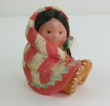 "Friends Of the Feather Figurine ""Wrapped in Love"" 1994 Enesco Figurine"